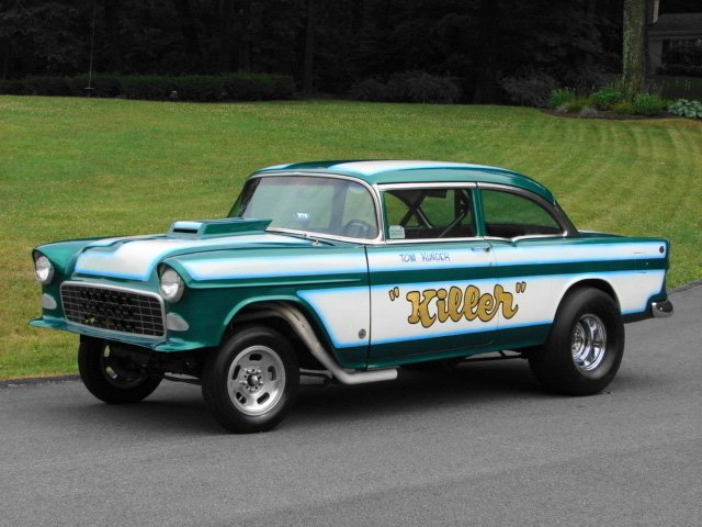 Super Cool 55′ Chevy Gasser For Sale on eBay