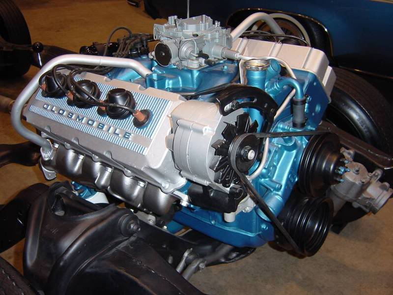 The W43  Oldsmobile U0026 39 S Dohc 455 V8 That Never Was