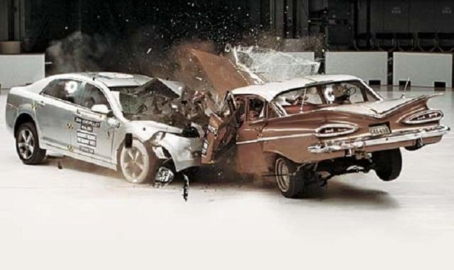 New Car Vs Old Car Crash Test