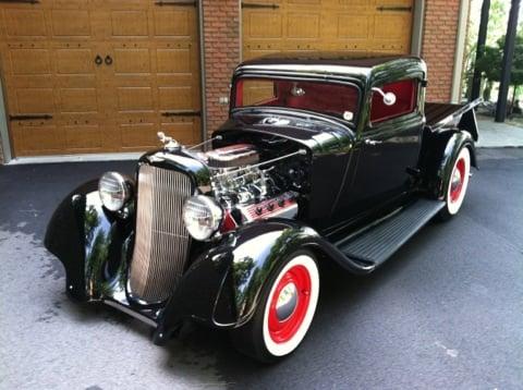 The Black Demon - '33 Dodge Pickup For Sale on eBay
