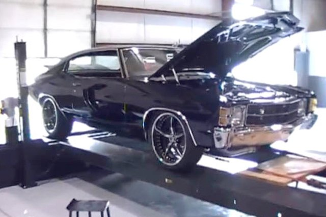 Video: 800 Horsepower Street Driven Chevelle At Steve Morris Racing