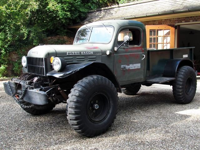 56 Dodge Power Wagon Comes With Awesome For Sale Ad
