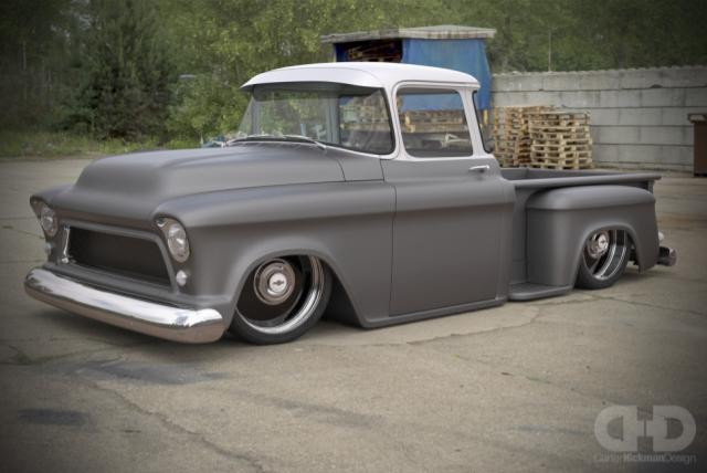 delmo speed and kustom wicked chevy truck build rod authority. Black Bedroom Furniture Sets. Home Design Ideas