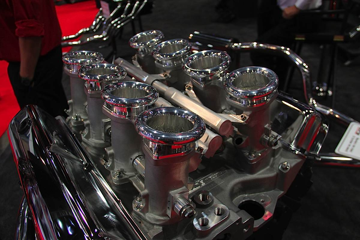 SEMA 2012: BORLA Goes With The Flow - New Induction Systems