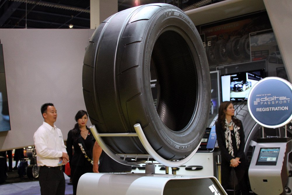 SEMA 2012: Nitto Tires Celebrates 2-million Fans