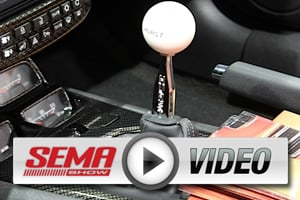 SEMA 2012: Hurst Shifts Into High Tech With Paddle Shifters