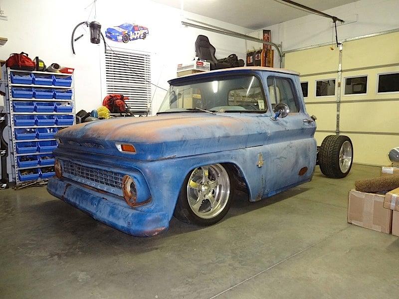 '63 C10 Farm Truck Bumps, Bounces and Drops