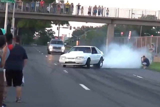 Video: After-Show Burnout Fest And Close Calls