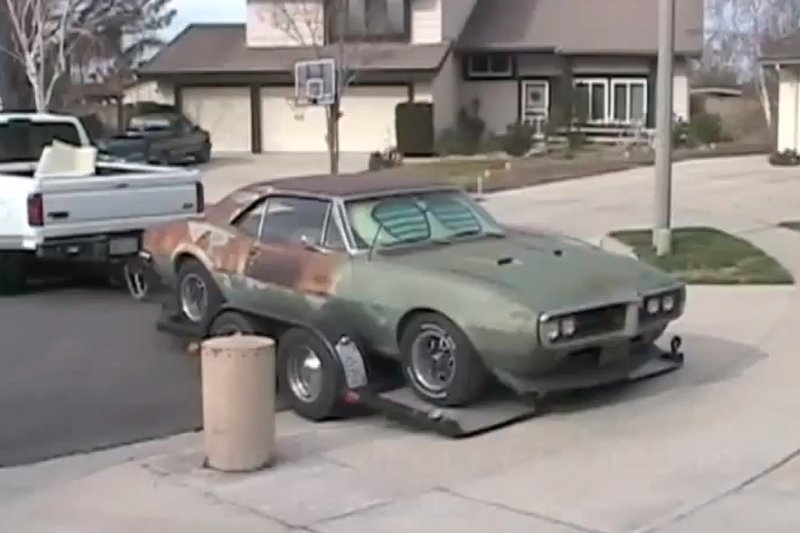 Video: Harbor Freight Tools' 1967 Firebird Restoration, Part 1