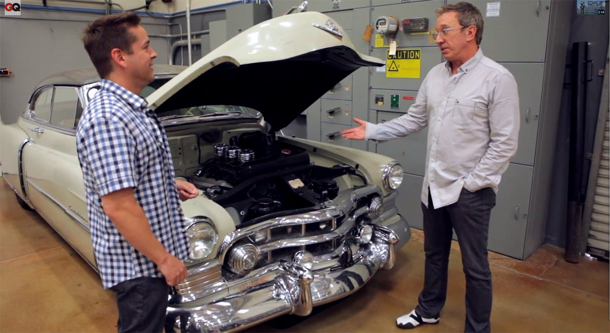 Video: Tim Allen's Awesome Car Collection