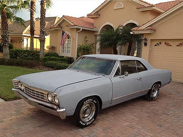 Craigslist Find Running 1967 Chevy Chevelle Project Car Street Muscle