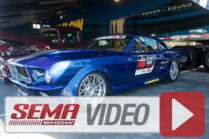 SEMA 2013: Total Cost Involved and Magnaflow Build A Hot 67 Stang