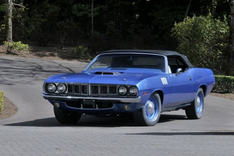 Video: Numbers Matching 4-Speed Hemi 'Cuda Rakes In 3.78 Million