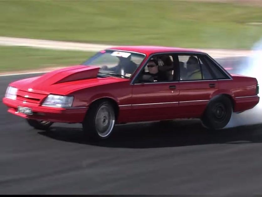 Swap Insanity: Magnuson-Blown VK Holden Commodore is a Smoke Machine