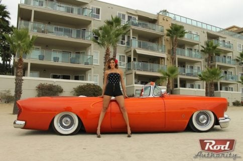 Rod Authority Certified Babe: Stacey Urzua x LBC x Kustom '54 Buick