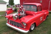 1956 Chevy blown mafia