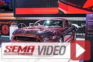 SEMA 2014: Weld Racing and Ford Racing Team Up For King Cobra