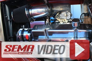 SEMA 2014: Spectre Performance Classes Up A Street Rod Engine