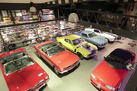 Video: An Amazing Mustang Collection That Began With Only 50 Cents
