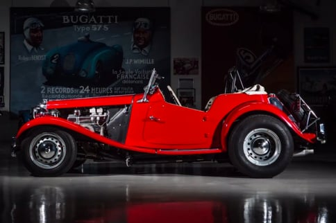 Video: Jay Leno's Garage And The Suped-Up 1952 MG TD