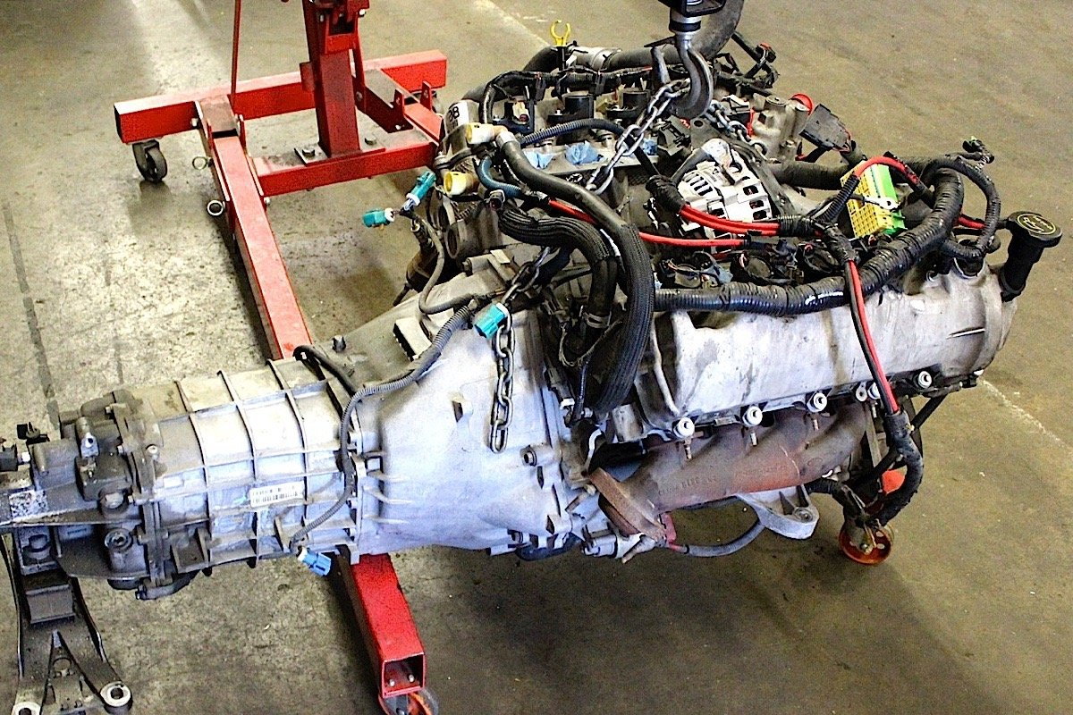 Coyote Swap Putting A 575 Hp Blown 50 In 06 Gt 65 Mustang Heater Wiring Diagram 2006 Is The Foundation For Project Pawlak Stripped Off Suspension And Front Sheetmetal Preparation To Remove Stock 46 Liter 3v Engine