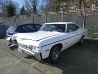 1968 Chevy Impala london impound