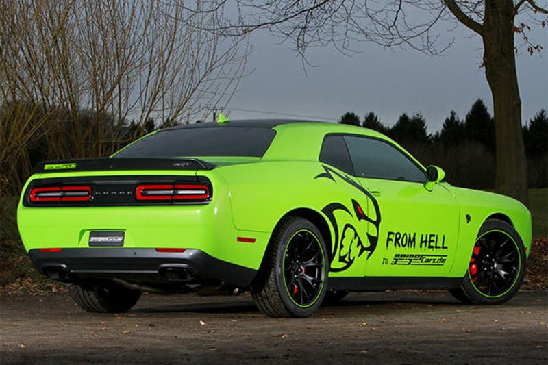 GeigerCars Lets Europe Get Their Hands On The Challenger