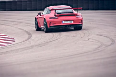Video: Brendon Hartley Takes A Spin In The New GT3 RS in Nardo