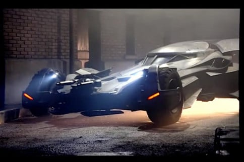 Video: Check Out The Edgy Batmobile Design For Batman vs. Superman