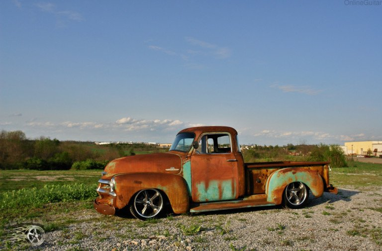 Video: Patina'd '55 Chevy Pick-Up Goes Up For Auction