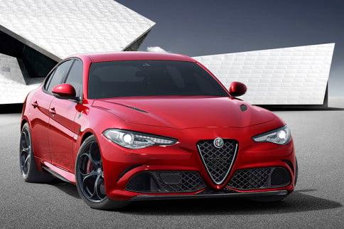 Alfa Romeo Unveils The Giulia, A 510 Horsepower BMW 3-Series Fighter