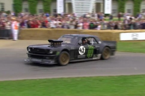Video: Ken Block Brings The Hoonicorn To Goodwood Speed Festival