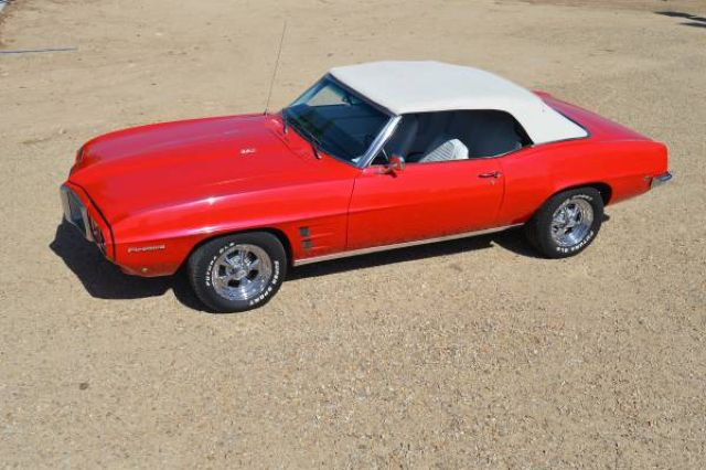 Red Hot Gal: A 1969 Pontiac Firebird Convertible - Street Muscle