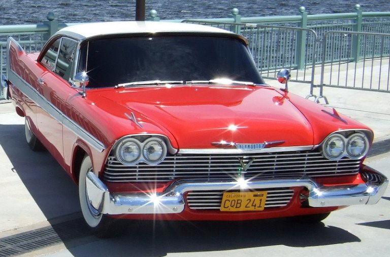 Top 15 Hot Rods From The Movies: #8 Christine, The '58 Plymouth Fury