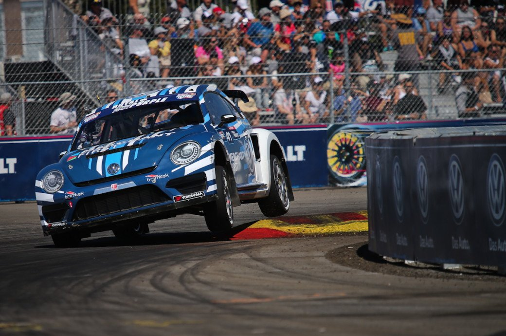 Global Rallycross: Scott Speed Dominates Doubleheader In L.A.