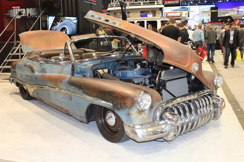 SEMA 2015: Ted Hamm's 1950 Derelict Buick Roadmaster Convertible