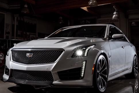 Video: Jay Leno Cruises Around In The New Cadillac CTS-V