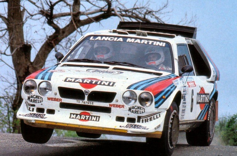 Video: Lancia Delta S4 Absolutely Screams