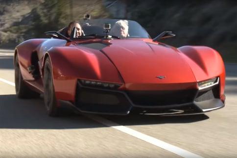 Video: Jay Leno Reviews The 500 HP Rezvani Beast