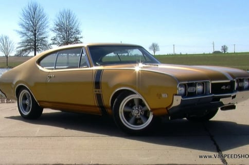 Video: Restoration To Restomod Stuffing An LSA Into A '68 Oldsmobile