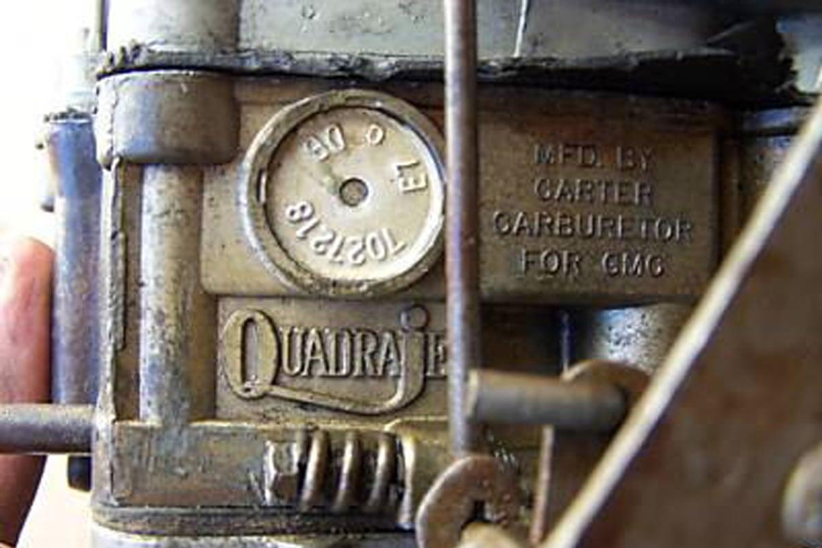 Choose Your Quadrajet: Number Identification Guide