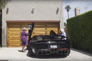 Video: Two Grannies Driving A Widebody Murciélago Is Hilarious