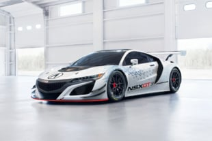 Acura Unveils The NSX GT3 At The New York International Auto Show