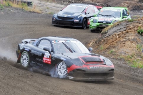 Video: Nissan-Powered, 4WD RX-7 Rallycrossing!