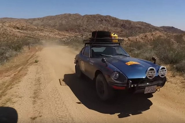 Video: This Datsun 240Z Is Ready For A 10,000 Mile Journey