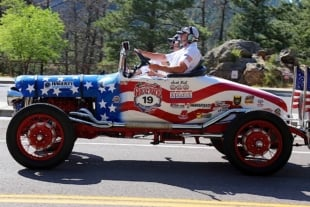Old Cars Conquering Mountains In Great Race