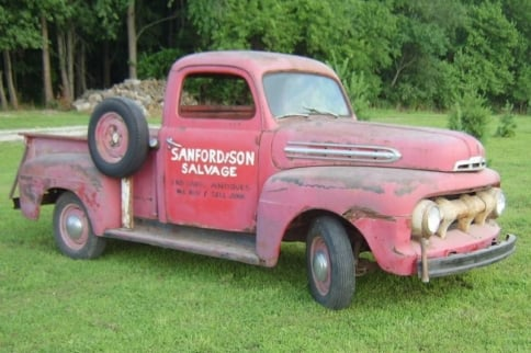 Top 50 TV Cars Of All Time: No. 28, Sanford And Son '51 Ford Truck