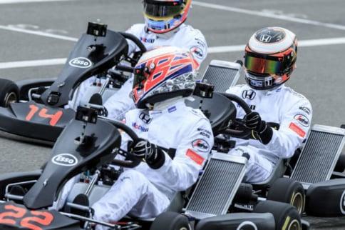 Video: F1 Stars Duel in Karts Pt. II