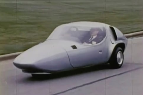 Before Prius And Smart Car, GM Experimented With XP-511 Commuter Car