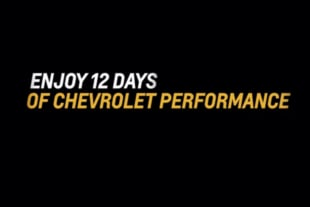 12 Days Of Chevrolet Performance: Extended Black Friday Sale